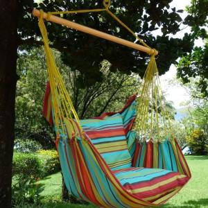 Lazy Rezt hangmat stoel groen